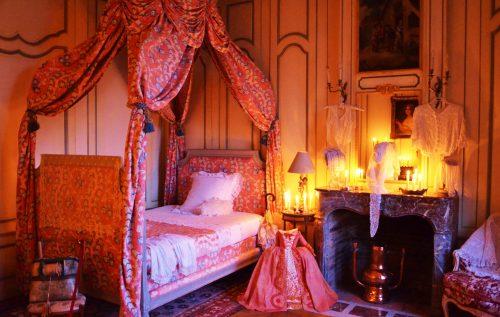 Château de Mesnil Geoffroy la chambre du prince de Montmorency