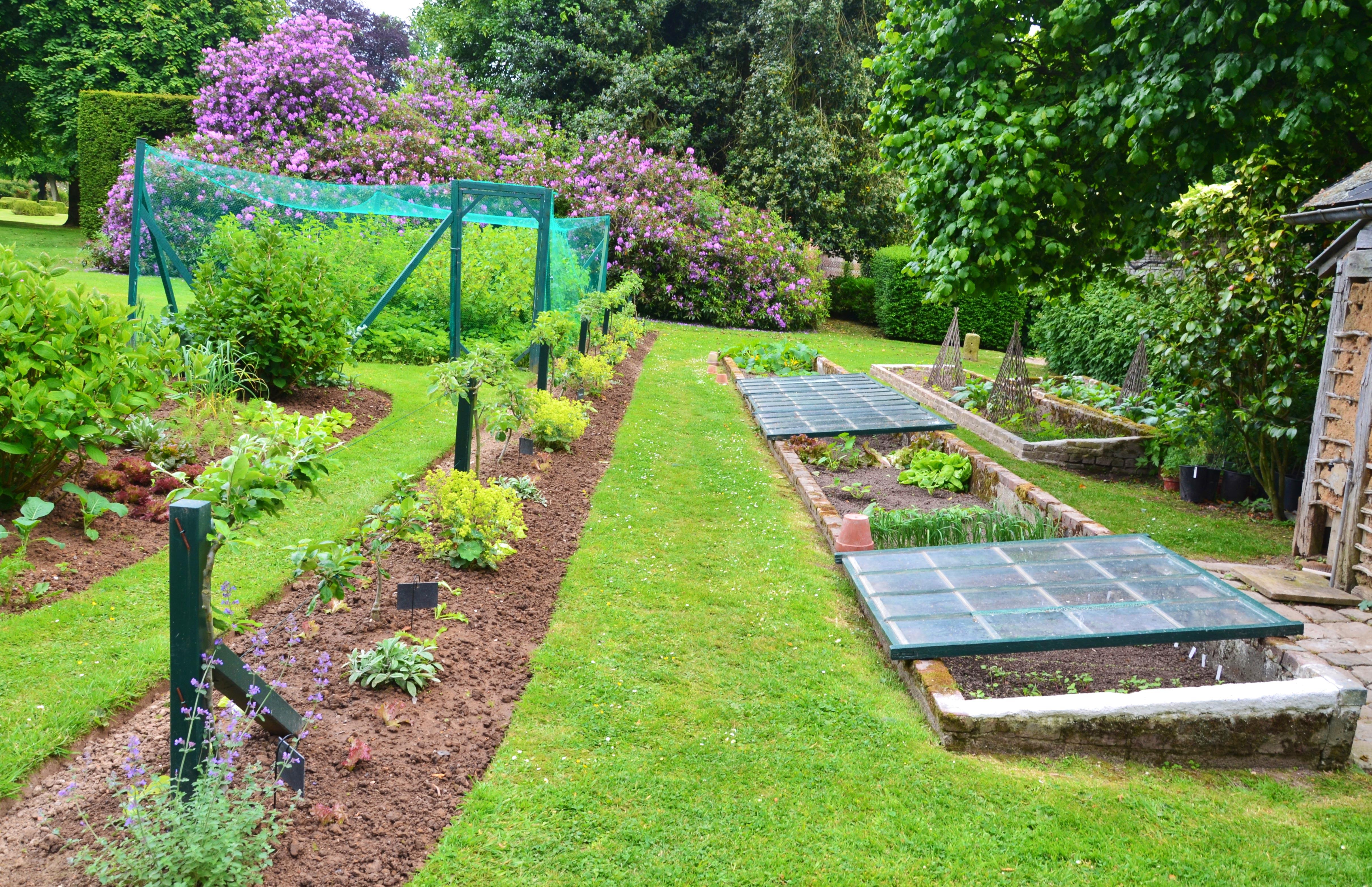 The Kitchen Garden The Kitchen Garden Chacteau De Mesnil Geoffroy