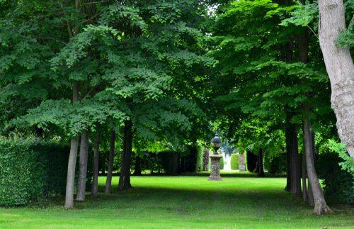 Le labyrinthe du chateau de Mesnil Geoffroy