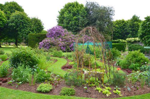 Jardin du domaine de Mesnil Geoffroy