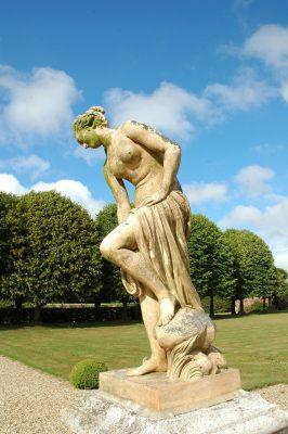 Statue de Vénus par Allegrain au chateau de Mesnil geoffroy