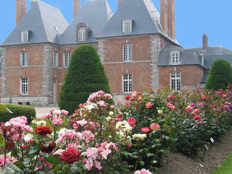 Château de mesnil Geoffroy Façade Ouest
